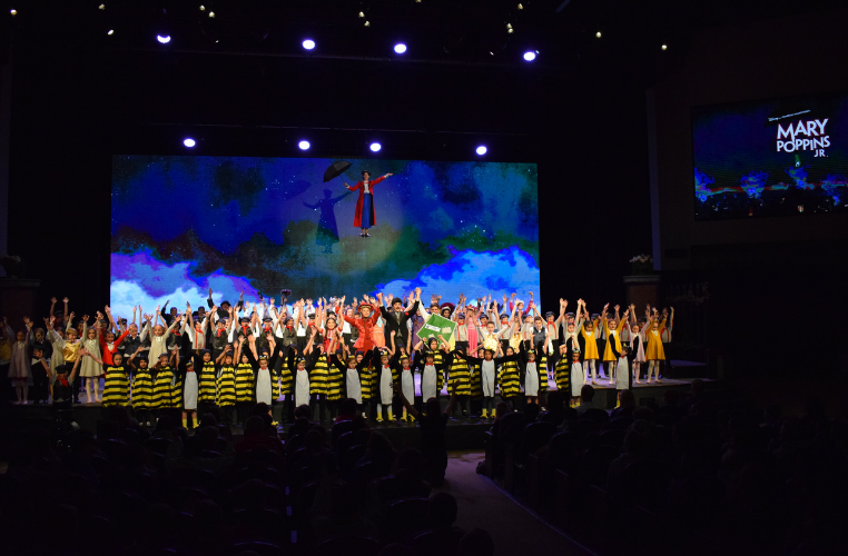 'Mary Poppins Jr.' Delights Audiences with High-Flying Fun at Friends Christian School